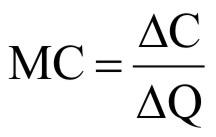 Bentuk non linier dari fungsi biaya pada umumnya berupa fungsi kuadrat ...